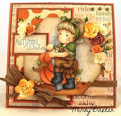 Gorgeous card from Stampin' Mindy