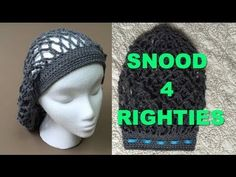 How to Crochet a Holiday Snood - YouTube