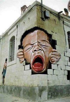 Top 10 Street Art on Buildings | Most Beautiful