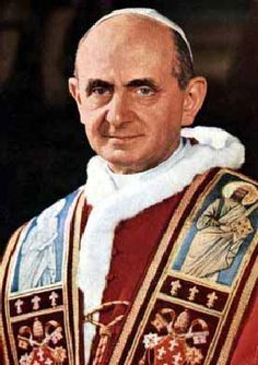 """Recently, the Congregation for Causes of Saints issued the decree concerning the """"heroic virtues"""" of then-Servant of God Paul VI. The decree has now been promulgated by the Roman Pontiff. Thus, we may now call Paul VI """"Venerable"""". Juan Pablo Ii, San Pablo, Pope John, Pope Francis, Paul Vi, John Paul, Pope Of Rome, Sainte Therese De Lisieux, Juan Xxiii"""