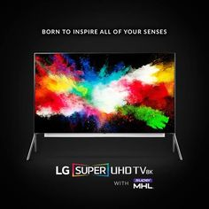 Introducing our most advanced picture quality ever. Learn more now: http://www.lg.com/us/tvs/lg-98UH9800-8k-uhd-tv #CES2016 #LGCES #mhltech