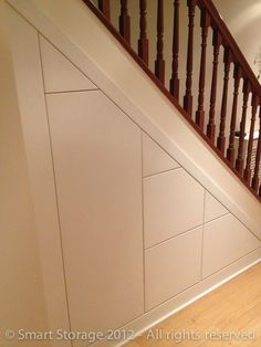 Understair Storage: Neat, Clean, Efficient - Call 0800 011 48045 Free Quote Understair Storage