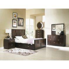 7PCKEYWESTBEDRM50 Najarian 7-Piece Queen Bedroom Set