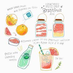 김혜빈 @moreparsley homemade 'grapefr...Instagram photo | Websta (Webstagram)