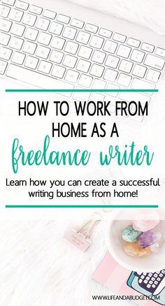 Make Money Writing: How to Become a Freelance Writer via @lifeandabudget
