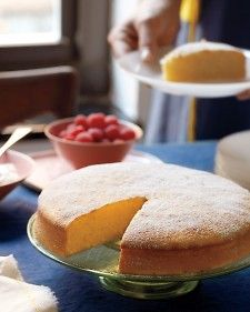 Simple lemon cake. Whole lemons are the base of this rich, citrusy batter. Precooking the fruit removes the pucker and makes for an intensely flavored cake.