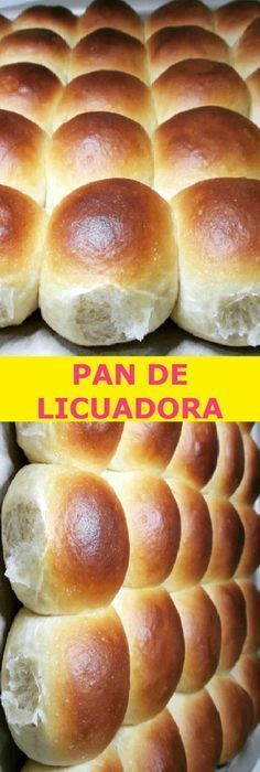 ➖ME SUPER ENCANTO EL P A N    D E   LICUADORA➖ Pozole, Tamales, Italian Lemon Pound Cake, Bread Recipes, Cooking Recipes, Flan Recipe, Homemade Dinner Rolls, Pan Bread, Sin Gluten