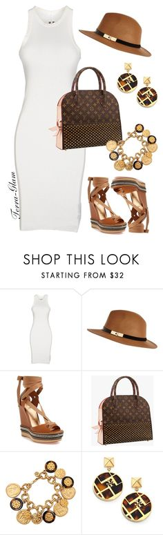 """Casual & Cool"" by terra-glam ❤ liked on Polyvore featuring DRKSHDW, River Island, Christian Louboutin and Tory Burch"