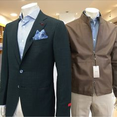 Linen Jackets, Green Wool, Suit Jacket, Leather Jacket, Beige, Blazer, Suits, Clothing, Fashion