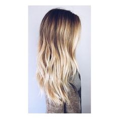 Tortoiseshell hair is now a big beauty trend Ecaille Balayage hair all... ❤ liked on Polyvore featuring beauty products and haircare