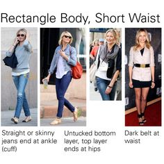 """Rectangle body, short waist tips"" by sduba on Polyvore"