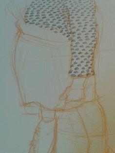 Vestido de hojitas...:)