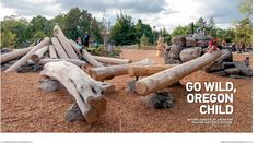 Landscape Architecture magazine feature on natural play in Oregon
