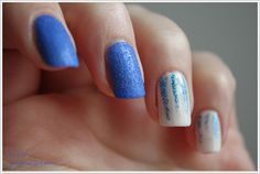NOTD: Something blue ~ By Dee make-up and more