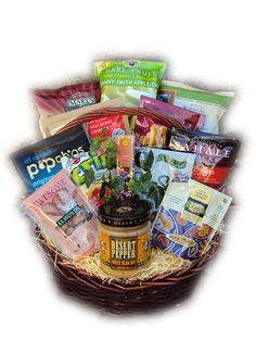 Healthy Father's Day Gift Basket
