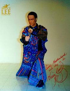 Bruce In Traditional Chinese Costume