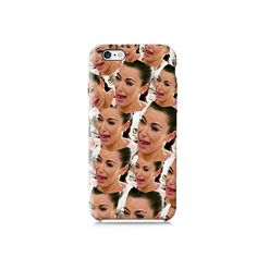 Kim Kardashian crying face all over is available for Galaxy S3, Galaxy S5, Galaxy S6, LG G3, Nexus 5, iPhone 4/4S, iPhone 5/5s, iPhone 5c and new