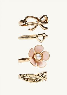 Girls Necklaces, Earrings, Bracelets and Rings | etc! | rue21
