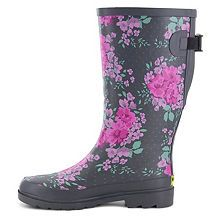 99603d3a71e7 Western Chief Floral Home Vari Fit Womens Waterproof Rain Boots Extra Wide  JCPenney