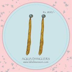 Had a long monday? Hope these beauties make you happy! :) Shop them at http://www.labelmansion.com/iz12.html #labelmansion #jewellery #earrings #danglers #designers #shoponline #india