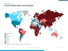 World Bottled #water consumption