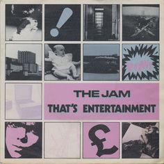"The Jam - That's Entertainment [1980, Polydor 2059324│Spain] - 7""/45 vinyl record"