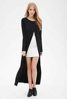 Longline Tulip-Front Top | FOREVER 21 - 2000097332