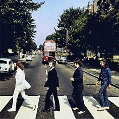 The Beatles ' super-iconic ' Abbey Road album cover is arguably the most often imitated photograph in history. This image is one of the five Abbey Road, Pop Rock, Rock Roll, Ringo Starr, George Harrison, Paul Mccartney, John Lennon, Great Bands, Cool Bands