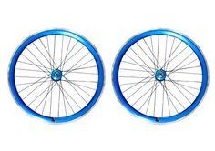 Fabrik Blue Single Speed Wheelset