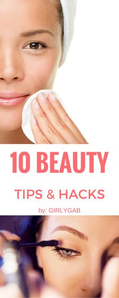 10 Simple yet SUPER EFFECTIVE beauty tips & hacks every girl should know! #beauty #hacks #DIY #Naturalbeauty