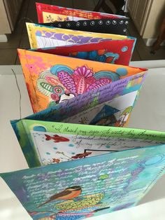 Folding Coloring Journal by Kim Collister