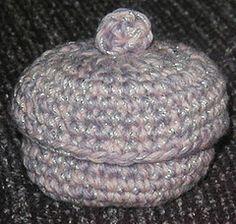 Tiny Box - Media - Crochet Me...free pattern!