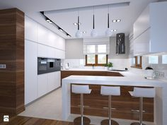 "Different Ways to Paint Kitchen Cabinets New Kitchen Cabinets Color Ideas New Kuchnia Zdj""â""¢cie Od Am butor Minimalist kitchen cabinet simple kitchen design ideas… Small Rustic Kitchens, Rustic Kitchen Design, Kitchen Room Design, Home Decor Kitchen, Interior Design Kitchen, New Kitchen, Awesome Kitchen, Kitchen Modern, Green Kitchen"