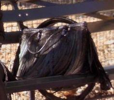 Georgina Sparks's Large Black Fringe Handbag from Gossip Girl: It's Really Complicated #ShopTheShows #curvio