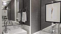 chroma design in toronto - amazing use of mirror on opposite walls