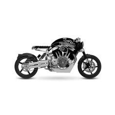 Confederate Motorcycles C3 X132 HELLCAT