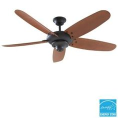 Home Decorators Collection Altura 60 in. Outdoor Oil-Rubbed Bronze Ceiling Fan 26660 at The Home Depot - Mobile