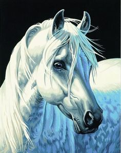 cuadro caballos (3) | Aprender manualidades es facilisimo.