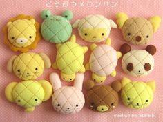 Melon bread cuteness/http://easyjapaneserecipessimplecookbook.wordpress.com/2014/05/31/melon-pan-recipe-how-to-make-japanese-melon-bread/