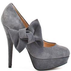 Tiffany- Grey Suede by Kelsi Dagger