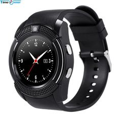 FuzWeb:TimeOwner V8 Smart Watch Android Watch Phone Clock Support SIM TF Card Bluetooth Notification Alarm Reminder for Samsung Xiaomi