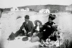 Costa da Caparica 1900-piquenique familiar