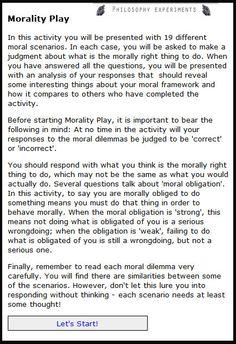 ethics game simulation worksheet