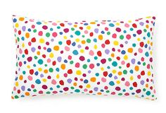 Rainbow polka dots.  What's not to love?