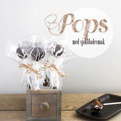 Pops med sjokoladesmak
