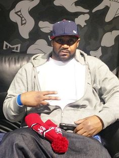 Ghostface Killah of Wu-Tang Clan previewing the Season 2 Collection of Melin