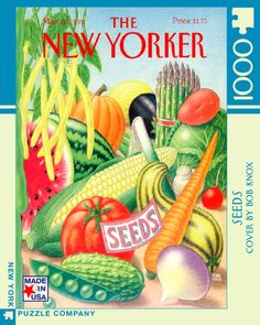 Seeds – New York Puzzle Company. 1000 piece puzzle.