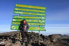 This is it - the summit! Standing on Uhuru Peak - above sea level. Time to rest the legs and marvel at an amazing achievement. Mount Kilimanjaro, Sea Level, Small Groups, Tanzania, Trekking, Rest, Africa, Marvel, Tours