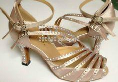 32.79$ (Watch more - https://alitems.com/g/1e8d114494b01f4c715516525dc3e8/?i=5&ulp=https%3A%2F%2Fwww.aliexpress.com%2Fitem%2FNew-Ladies-Girls-Flesh-Satin-Crystal-Salsa-Ballroom-Dance-Shoes-Latin-Dance-Shoes-Mambo-Dance-Shoes%2F32222398928.html) New Ladies Girls Flesh Satin Crystal Salsa Ballroom Dance Shoes Latin Dance Shoes Mambo Dance Shoes ALL Size