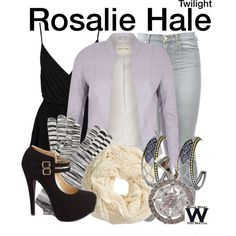 Inspired by Nikki Reed as Rosalie Hale in the Twilight film franchise.